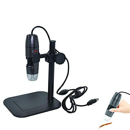 Nachar Portable Digital Microscope Lifting Bracket Holder, Universal Adjustable Base Stand Holder for Laboratory USB Digital Microscope Endoscope Magnifier Camera