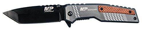 Smith and Wesson 103611 Einhandmesser Bodyguard | Klingenlänge: 9 cm, Mehrfarbig