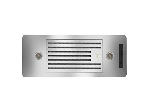 ZEPHYR AK8100AS-BF 27-in Under-Cabinet Range Hood 600-CFM, Wireless Kitchen Stove Vent with Halogen Light, 3 Speed Exhaust, Stainless