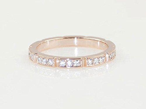 Amazon Com 2 4mm Diamond Wedding Band Women S Wedding Band Diamond Ring Unique Diamond Band Solid 14k Rose Gold White Gold Yellow Gold Wedding Ring Handmade