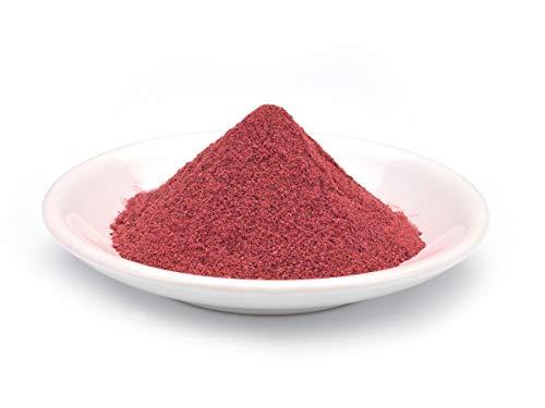 Polvo de Remolacha roja orgánico 1kg BIO ecológico, beetroot vegetal, calidad de los alimentos crudos, aromáticos, dulces, violeta/rojizos/pardos 1000 g
