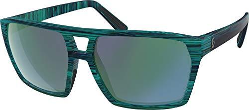 SCOTT Tune - Gafas de Ciclismo, Color Azul y Verde