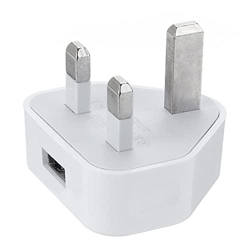 GUOJFEN UK 3 Broches Prise d'alimentation Murale Chargeur USB Type-c Adaptateur de Voyage Prise pour téléphones Mobiles humidificateurs purificateurs d'air masseurs