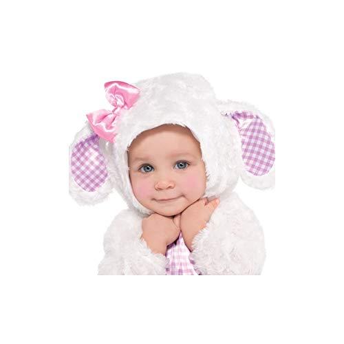 Christy's - Costume da agnellino per bambini, 12-18 mesi