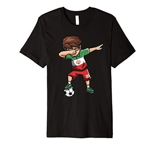 Sanftes Soccer Boy Iran Jersey Shirt iranischen Fußball Tee