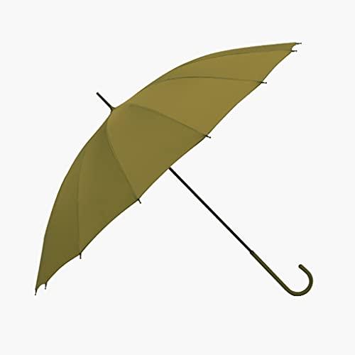 WYH Umbrella Paraguas Grande A Prueba De Viento Y Paraguas De Palo Extra Resistente Al Viento Y Resistente Al Viento Sombrilla (Color : B)