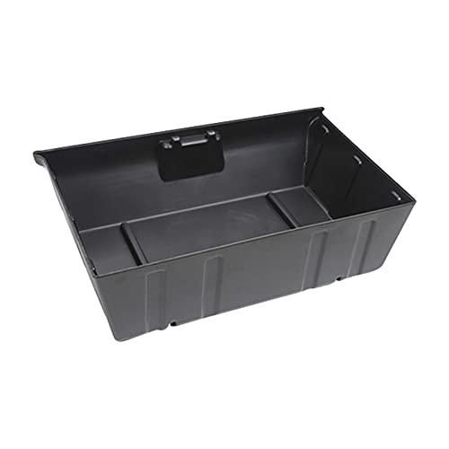FDKJOK Caja de almacenamiento de coche debajo del asiento para Tesla Modelo Y 21, bandeja organizadora del asiento del conductor del coche (ABS)