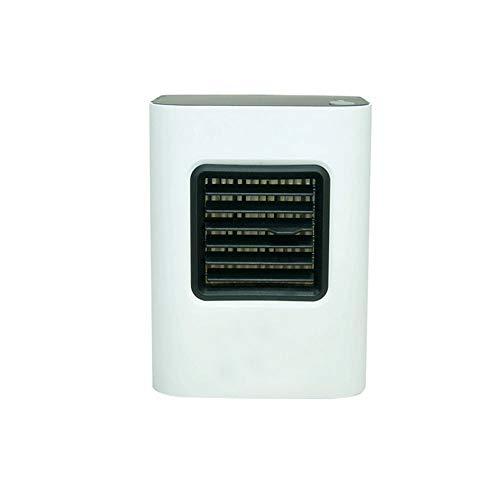 Mini Refrigerador De Aire, Ventilador De Aire Acondicionado Portátil Ventilador De Escritorio Pequeño Ventilador De Mesa Personal Evaporador De Aire Compacto Humidificador De Nebulización,XL