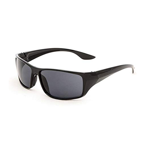 fawox Gafas de Sol Deportivas para Hombre Gafas de visión Nocturna Conductor Espejo de conducción Nocturna Gris