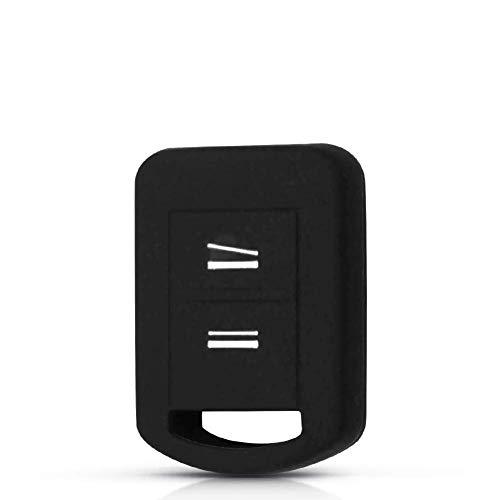RFGOO 2 Botones Mando a Distancia para Llave de Coche, Accesorios de decantación de Coche, para Vauxhall Opel Corsa Agila Meriva Combo Negro