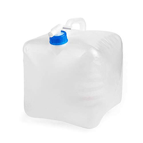 Monkys - Recipiente de Agua Plegable con espita, sin BPA, para Acampar,...