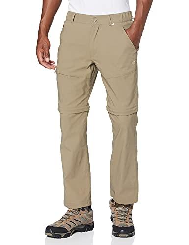 Craghoppers Kiwi Pro Pantalon Convertible pour Homme, Pebble, 96 cm