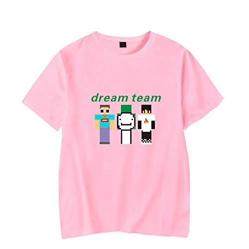 WAWNI Dreamwastake - Camiseta de manga corta para verano, diseño de ensueño, unisex, manga corta