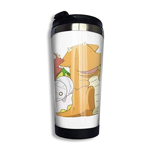 DJNGN Howls Moving Castle Hayao Miyazaki Taza de viaje para café Taza de acero inoxidable Vaso aislado al vacío 13.5 oz