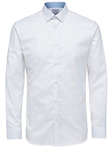 SELECTED Camicia uomo Bianca