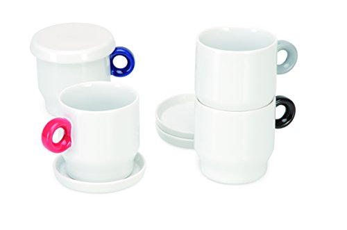 Universal Expert Boîte empilable Lot de 4 Tasses