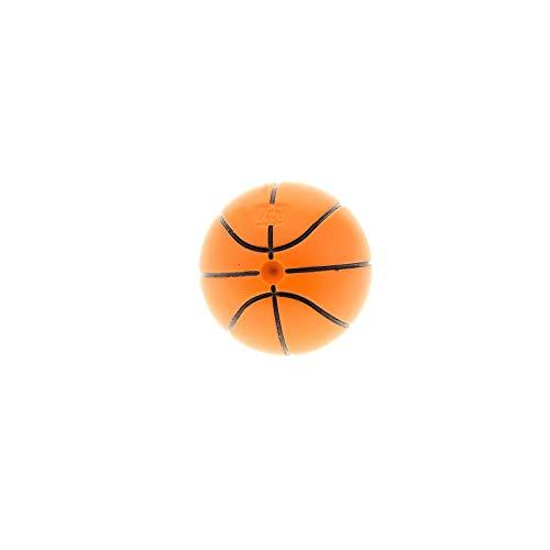 LEGO 1 x System Ball Basketball orange mit Standard Linien schwarz für Set Sports 3827 3432 3433 3431 3428 4186831 43702pb02