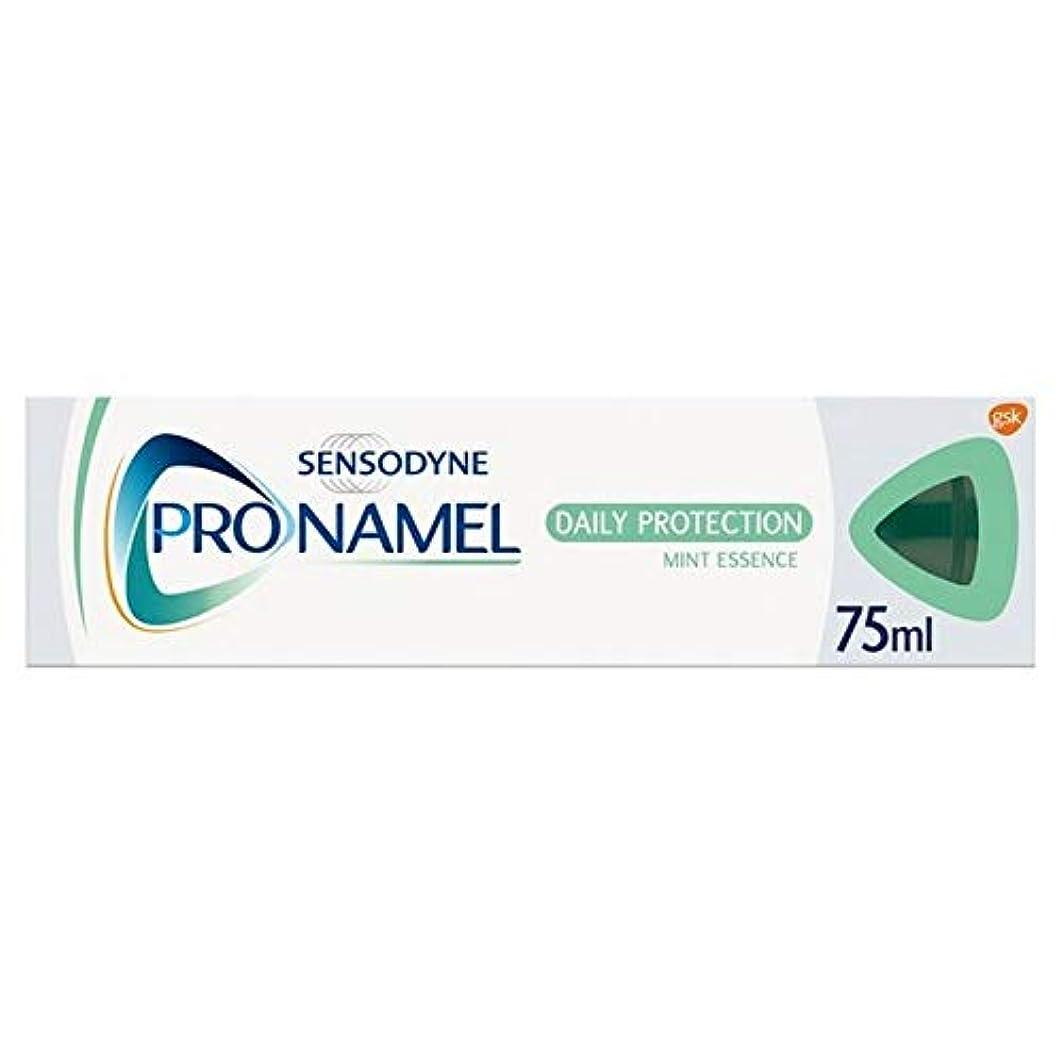 散髪手がかりうめき[Sensodyne] SensodyneのPronamel毎日保護エナメルケア歯磨き粉75ミリリットル - Sensodyne Pronamel Daily Protection Enamel Care Toothpaste 75ml [並行輸入品]