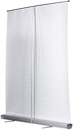 Transparente Rollup Banner Biombos Pantalla Higiénica Transparente, Bacterias De Bloque, Adecuado para Gimnasio, Salón, Pub, Restaurante Estornudos Protectoras Oficina Divisores