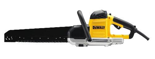 DeWalt Spezialsäge (1.600 Watt, Sägeblattlänge 295 mm, ideal für Schnitte in Porenbeton (Festigkeitsklassen zwei, vier und sechs) und für Gips, inkl. HM-Sägeblattsatz DT2973 und Inbus), DWE396