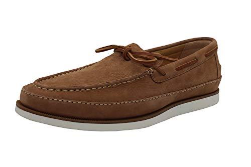 Sperry Men's Gold Cup Kittale 1-Eye Nubuck Dress Shoe Boat, Linen, 10