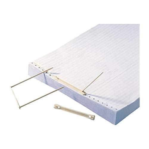 50x Fellowes BANKERS BOX Archiv Abheftbügel Ordner ProClip 100mm blau