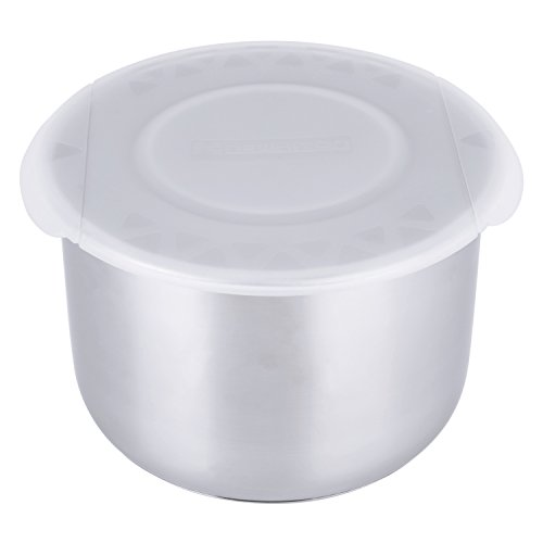 Silicone Lid Cover for Insta Pot Inner Pots (BPA-Free) - Fits IP-DUO60, IP-LUX60, IP-DUO50, IP-LUX50, Smart-60, IP-CSG60 and IP-CSG50 (White))