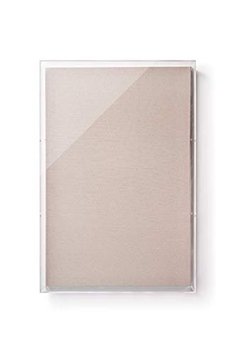 Wexel Art 24x36x3-Inch Diamond Polished Framing Grade Acrylic Shadowbox LID ONLY for 3D Art & Photo Display, 24x36, 24x36x3, Clear