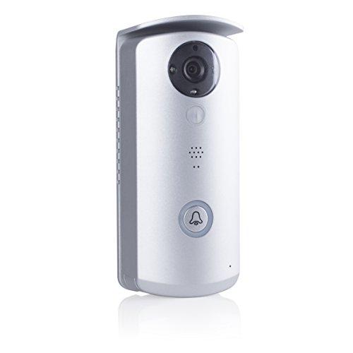 Smartwares VD40W - Video portero Wifi con app gratuita. Resolución HD, 720p