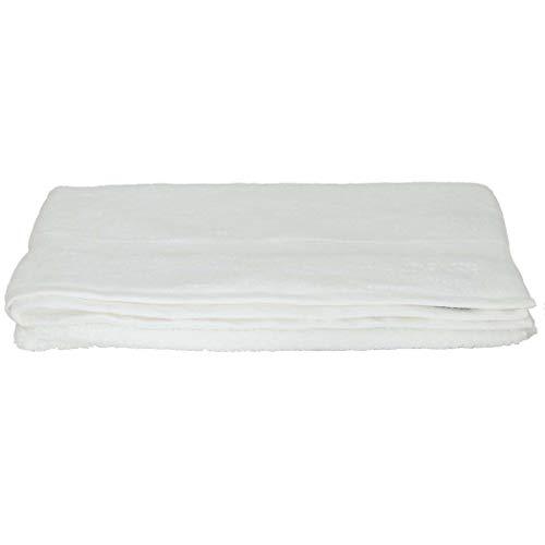 Boss Hugo - Toalla de baño (100 x 150 cm), color blanco