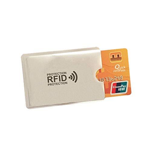 SHOP-STORY - Pochette Étui de Protection Anti RFID pour Protéger et Sécuriser Vos Cartes Bancaire du Piratage et des Fraudes