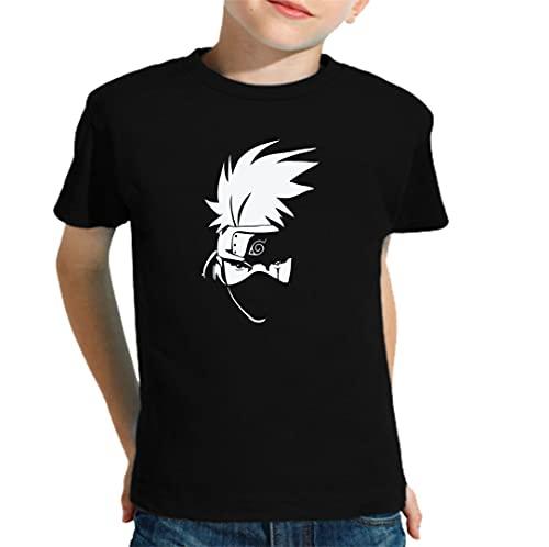 The Fan Tee Camiseta de NIÑOS Naruto Sasuke Kakashi...