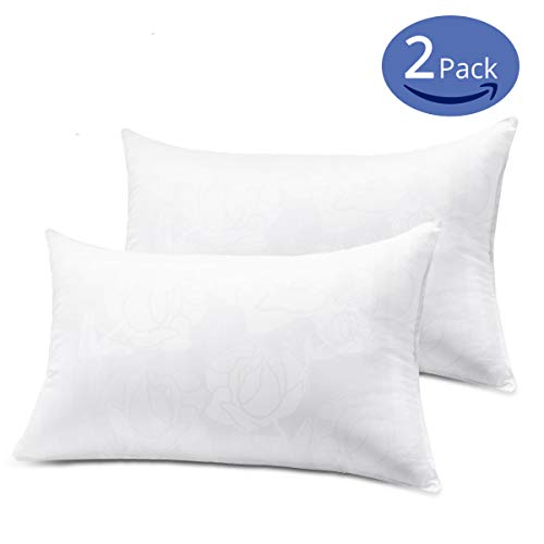 Learn More About Emolli Pillows Insert Set of 2-4, Premium Stuffer Down Alternative Pillow Insert, S...