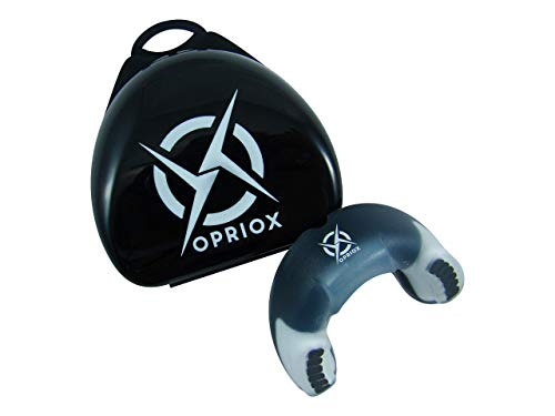 Opriox Protector Bucal Profesional Deportivo, para Boxeo, Rugby, MMA,Muay...