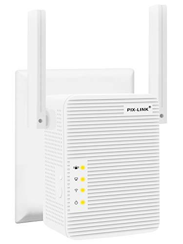 TOMOT WLAN Repeater, Wireless Netz Signal Verstärker 300Mbit/s, mit LAN Port/WPS Taste/Repeater/AP-Modus WLAN Verstaerker WiFi Signalverstärker kompatibel mit Allen WLAN Geräten
