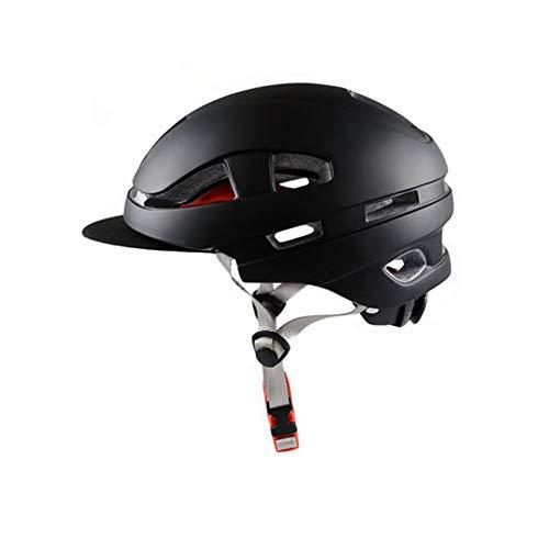 Fietshelm, geïntegreerde Urban Road Vrijetijdsfietshelm DOTECE Certified - Full Face Racing motorhelm met zonwering volwassenen mannen en vrouwen - L