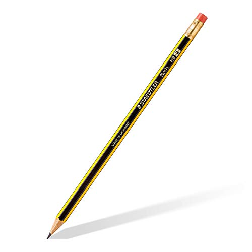 Staedtler Noris 122-HB Pencils Rubber-Tipped HB (2) Degree - Box of 12 Photo #3