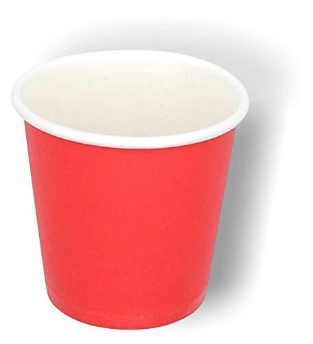 1600/400/50 Mini vasos de papel 75 ml reciclables desechables biodegradables compostables P Café Espresso Maquinilla Corto Largo Tazas