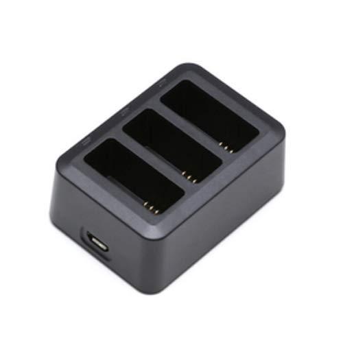 Kismaple Tello Hub per ricarica rapida della batteria, 3 in 1 mini caricabatterie rapido a ricarica multi caricabatteria parallela per DJI Tello Drone Accessories