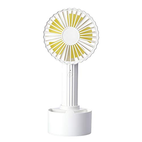 SOOTOP Mini USB Fan, Handheld Cactus Shape Fan Rechargeable High 3 Adjustable Speeds Battery Operated Cooler Conditioner Electric Mobile Home, Office, Travel, Camping, Outdoor, Indoor