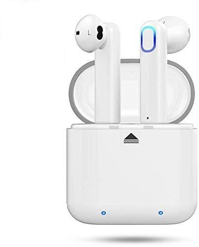 Abeyete Auriculares Bluetooth 5.0 Sport IPX5 Auriculares intrauditivos súper estéreo Bluetooth con micrófono Caja de Carga...