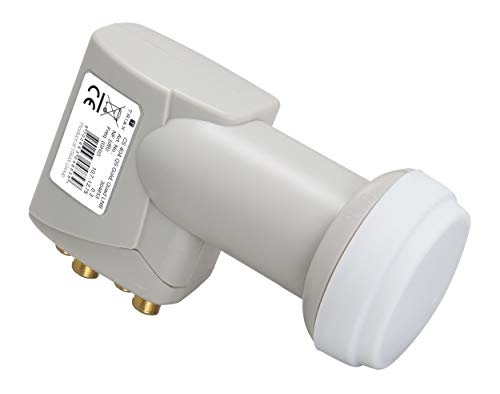 Triax 304853 CS 404 QS Gold Quad Switch LNB 4