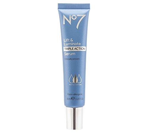 Lift & Luminate No7 Triple Action Anti-Falten-Serum, 30ml
