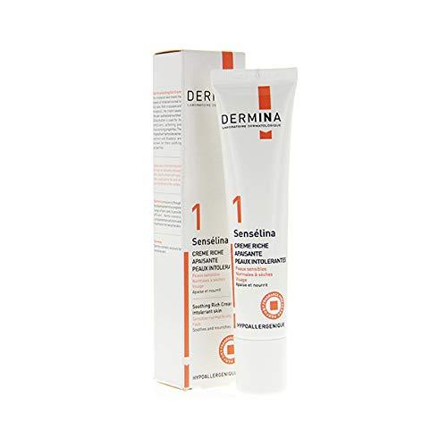 Dermina - Sensélina - Crème Riche Apaisante Peaux Intolérantes 40ml
