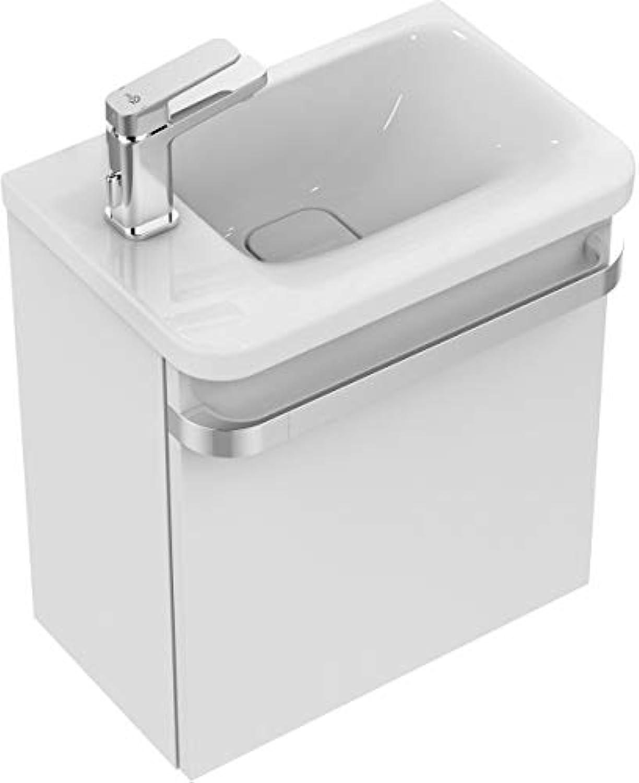 Ideal Standard Handwaschbecken TONIC II, links,,Ablage links,460x310x140mm,Wei mit IP, K0866MA