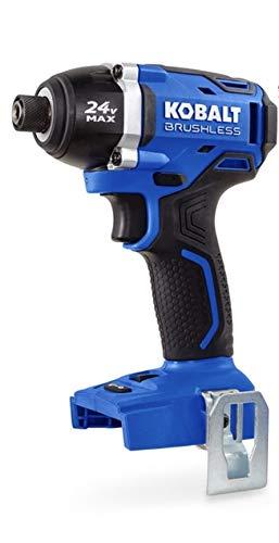 Kobalt 24 volt Impact Driver Brushless 1/4 inch (324B-03)