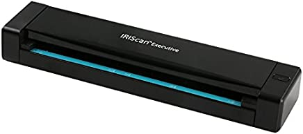 IRISCan Executive 4 Duplex Portable Mobile Document Image Portable Color Scanner USB Powered