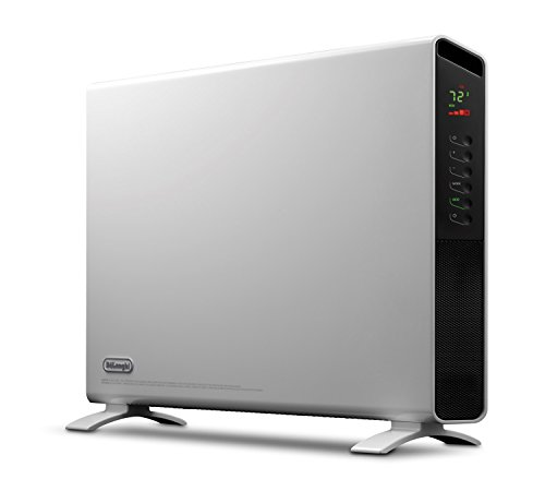 DeLonghi America Convector Panel Heater, Full Room Quiet 1500W, Freestanding/Easy Install Wall...
