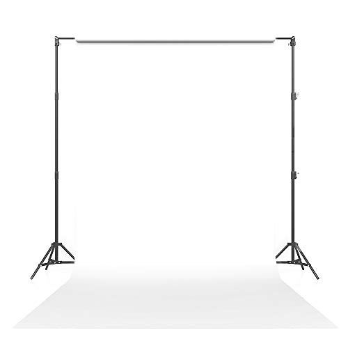 Savage Seamless Paper Photography Backdrop - #66 Pure White (86 in x 36 ft) for YouTube Videos, Live Streaming, Interviews and Portraits - Made in USA
