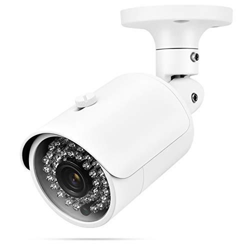 Cámara de Vigilancia Cámaras De Vigilancia 4-en-1 Cámara Seguridad Al Aire Libre HD IP66 Visión Nocturna A Prueba De Agua AHD/TVI/CVI/CVBS Cámara para Interiores para El Hogar Y Al Aire Libre